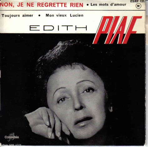 Language Trainers :: Foreign Song Reviews from Edith Piaf
