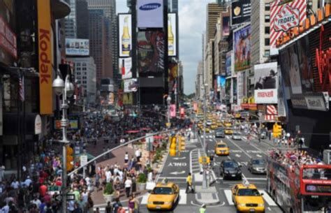New York City's Broadway Pedestrian Zone to Become