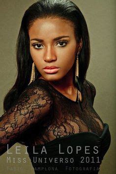 Leila Lopes Miss Universe Wow