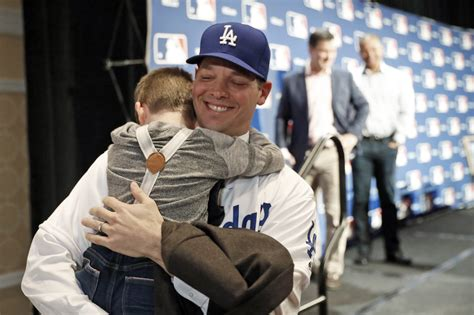 Rich Hill Pitches For The LA Dodgers, His Family And His