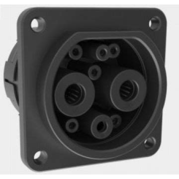 DC Charging Socket for Electric Vehicle Fulfilled GB/T