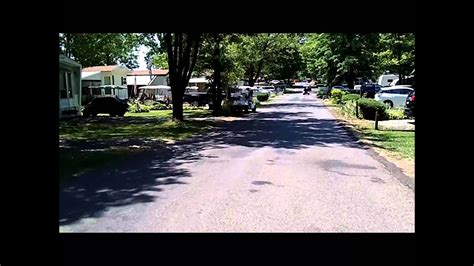 Slippery Rock Campground Golf Cart Ride - YouTube