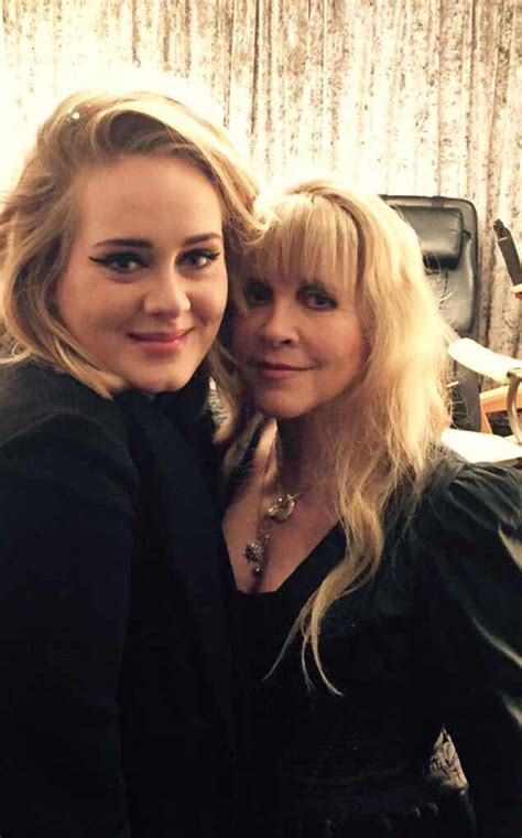 Adele Totally Fangirls Over ''Queen'' Stevie Nicks After