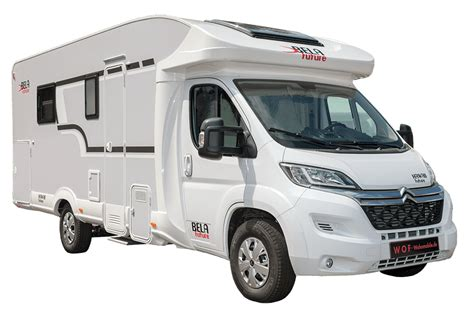 Motorhome BELA Future - affordable semi-integrated or with