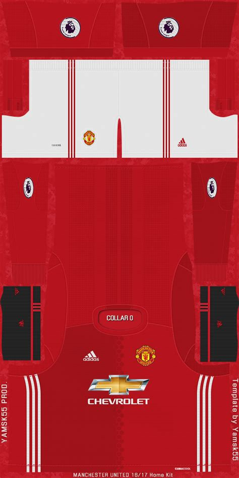 fifa-patchs: FIFA 09 / FIFA 10 Manchester United 2016-17