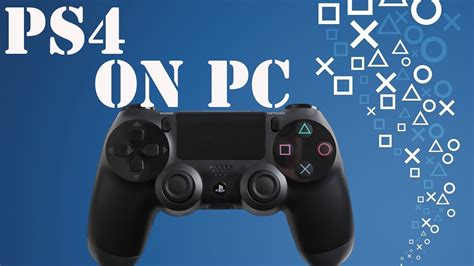 PS4 Controller On PC - YouTube