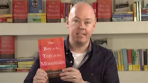 John Boyne introduces The Boy at the Top of the Mountain