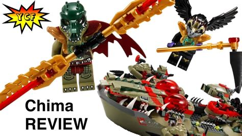 LEGO Chima 70006 Cragger's Command Ship Review Legends of