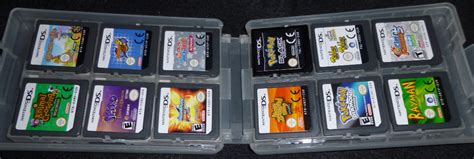 Sold 19 loose Nintendo 3DS and DS games in plastic case