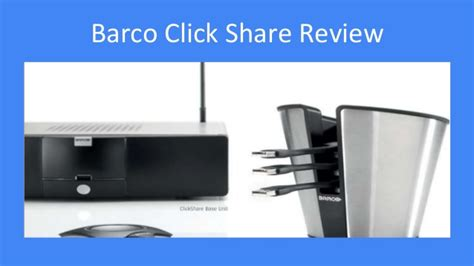 Barco Clickshare vs Crestron Airmedia [Updated for 2017]