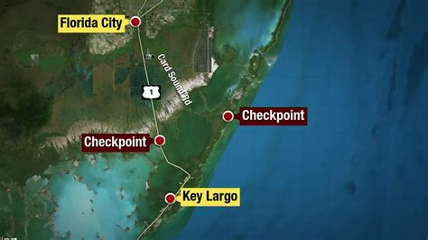 Drivers face 2 checkpoints limiting access to Florida Keys