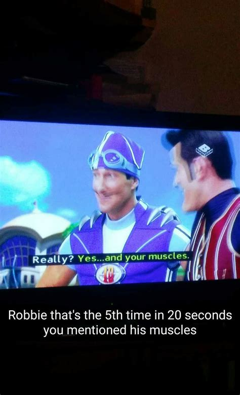 sportarobbie | Tumblr | Lazy town memes, Lazy town, We are