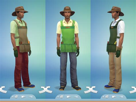 Mod The Sims - Gardener Outfit