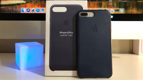 First Look: Apple's Midnight Blue Leather Case For iPhone