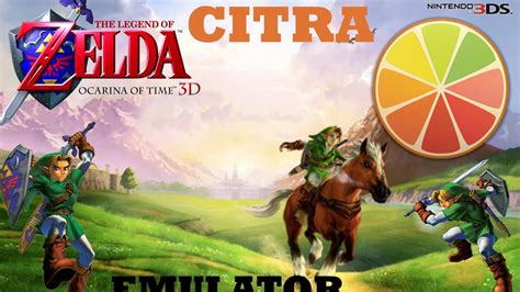 CITRA 3DS  How To Play Legend Of Zelda Ocarina Of Time