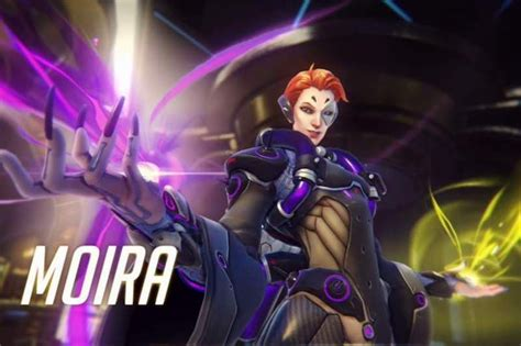 New Overwatch Hero Moira Now Playable on PS4, Xbox One