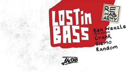 Party - Lost in Bass — drum 'n' bass all night - Metro in