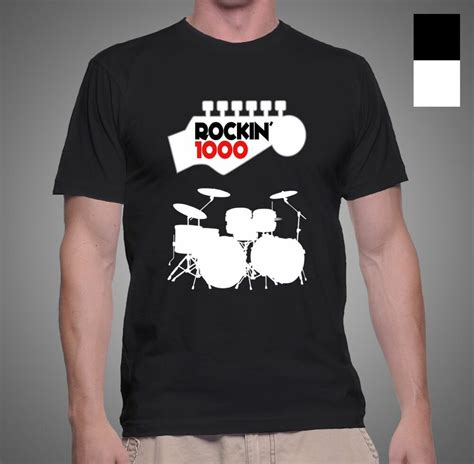 New Rockin' 1000 Foo Fighter Learn To Fly Music Drummer