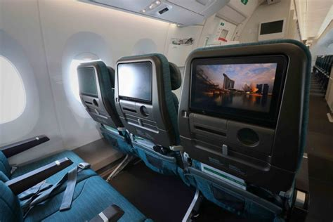 A Sneak Peek At Cathay Pacific's New Airbus A350-1000